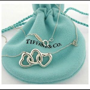 Tiffany & Co. Sterling Triple Heart Necklace